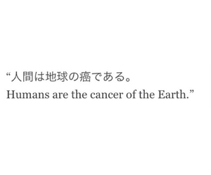 quote, cancer, and earth image