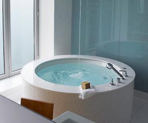 decoration, home ideas, and sexy tub image