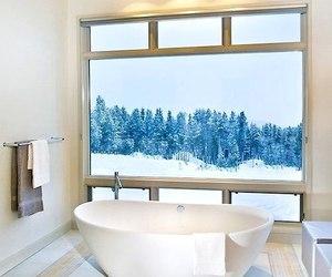 home, bathroom, and snow image