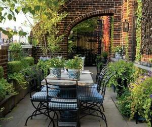 decor, exterior, and garden image