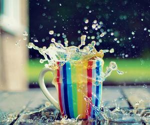 splash, water, and mug image