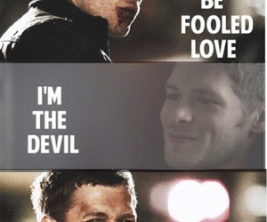 Devil, tvd, and love image