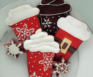 Cookies and merry christmas image
