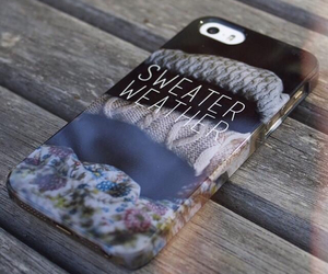 case, iphone, and sweater image