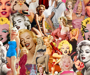 Marilyn Monroe and Collage image
