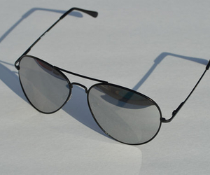 accessories, aviator, and black image