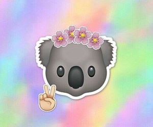 colorful, flowers, and funny image