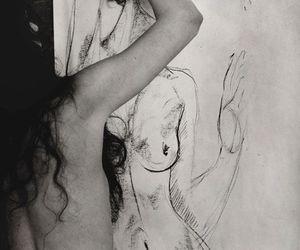 art, drawing, and akt image