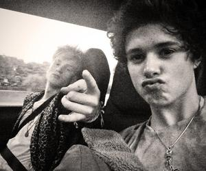 the vamps, bradley simpson, and tradley image