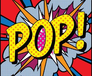 pop art, pop, and comic image