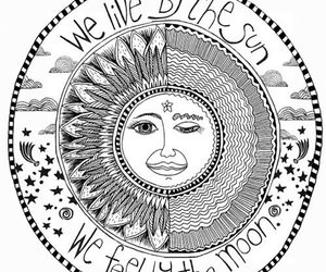 sun, moon, and quotes image