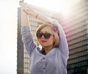 paris, sun, and blong hair image