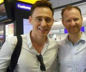 tom hiddleston and mark gatiss image