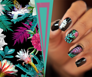 manicure, print, and loveit image