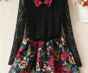beautiful dress, clothing, and clothes image