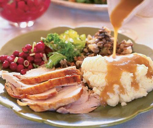 food, thanksgiving, and turkey image