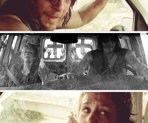 carol, otp, and the walking dead image