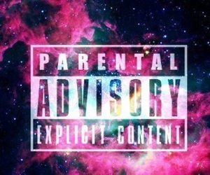 galaxy, wallpaper, and parental advisory image