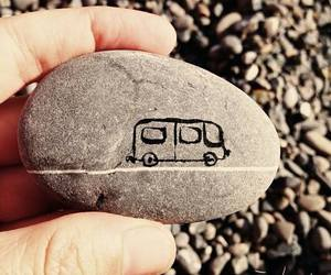draw, stone, and vw image