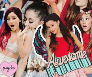 Collage, png, and ariana grande image