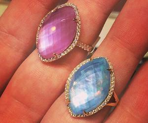 diamond, jewelry, and princess image