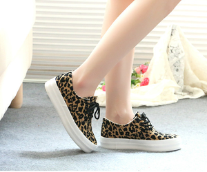 canvas, casual, and leopard image