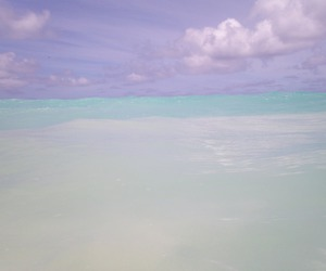 sky, blue, and ocean image