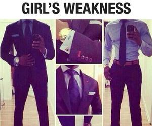 weakness, suit, and boy image