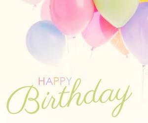 birthday, balloons, and b-day image