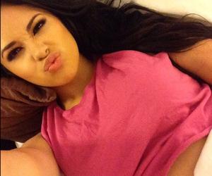 jasmine villegas and pink image