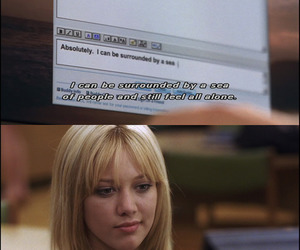 Hilary Duff, quote, and a cinderella story image