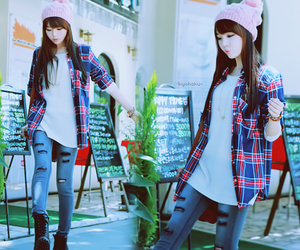 asian, spring, and fashion image