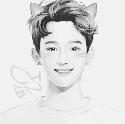 Chen, exo, and fanart image