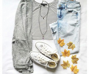 fashion, sweaters, and shoes image