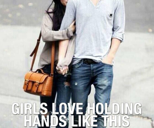 boyfriend and girlfriend, couple, and relationships image