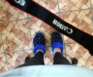 blue, canon, and feet image