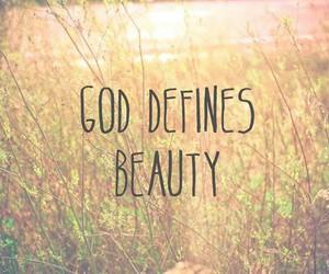 beauty, god, and christian image