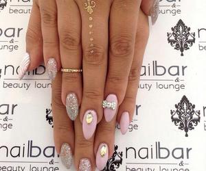 bling, bows, and nails image
