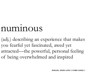 quotes, numinous, and words image