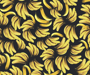 banana, wallpaper, and yellow image