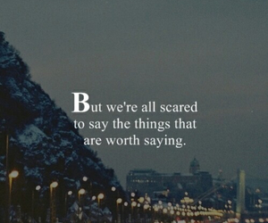 quotes, scared, and true image