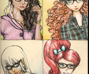 hipster, disney, and ariel image