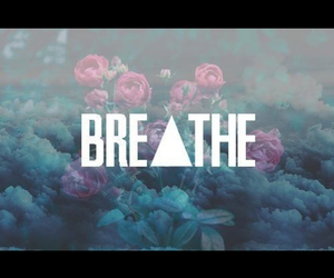 breathe, flowers, and tumblr image