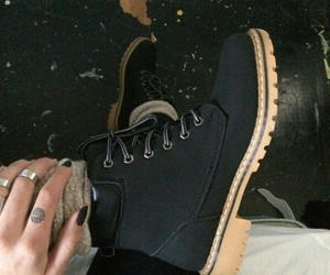 boots, dope, and fashion image