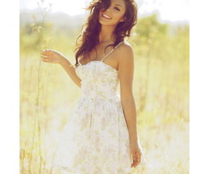 girl, dress, and summer image