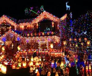 christmas, love, and Houses image
