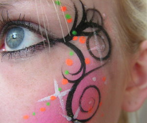 elf, eyes, and makeup image