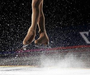 ice skating, ice, and sport image