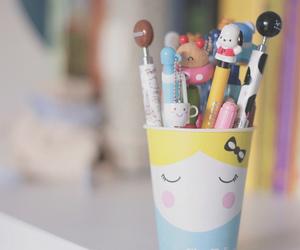 cute, pen, and kawaii image