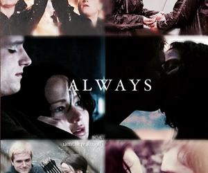 always, together, and mockingjay image